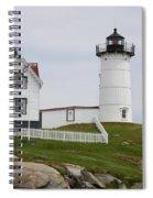 Cape Neddick Lighthouse Spiral Notebook