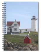 Cape Neddick Lighthouse - Me Spiral Notebook