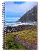 Cape Perpetua Path Spiral Notebook