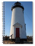 Cape Poge Lighthouse Spiral Notebook