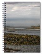 Cape Porpoise Maine - Fog On The Horizon Spiral Notebook