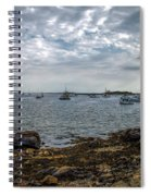 Cape Porpoise Maine - In The Evening Spiral Notebook