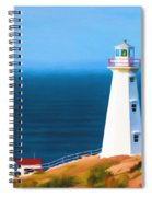 Cape Spear Lighthouse Spiral Notebook