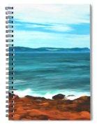 Cape Spear Shoreline Spiral Notebook