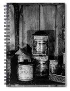 Capeevanshut-antarctica-g.punt-13 Spiral Notebook