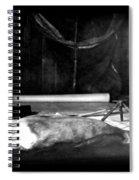 Capeevanshut-antarctica-g.punt-18 Spiral Notebook