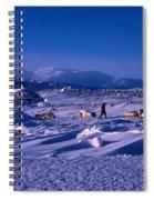Capeevanshut-antarctica-g.punt-6 Spiral Notebook