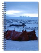 Capeevanshut-antarctica-g.punt-9 Spiral Notebook