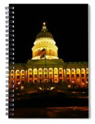 Capital Building In Utah Salt Lake City Spiral Notebook
