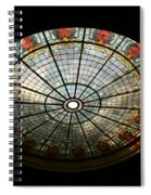 Capital Building Stained Glass 2 Spiral Notebook