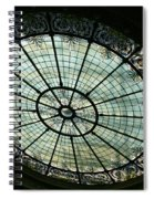 Capital Building Stained Glass  Spiral Notebook