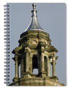 Capital Dome Spindle Top Spiral Notebook