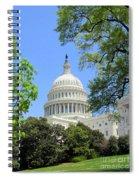 Capital Hill Spiral Notebook