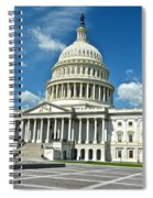 Capitol Building Spiral Notebook