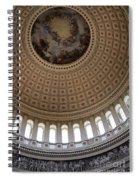 Capitol Cupola Washington Dc Spiral Notebook