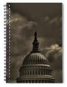 Capitol Dome Spiral Notebook