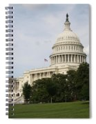 Capitol Hill Washington Dc Spiral Notebook