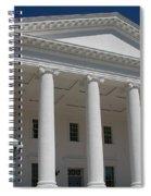 Capitol Pillars - Richmond Spiral Notebook