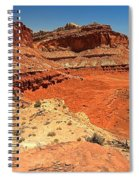 Capitol Reef Colorful Landscape Spiral Notebook