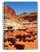 Capitol Reef Twin Towers Spiral Notebook