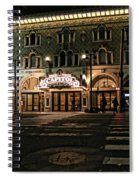 Capitol Theatre Spiral Notebook