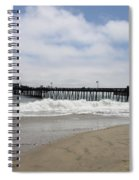 Capitola Wharf Spiral Notebook