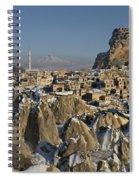 Cappadocia In Winter Spiral Notebook