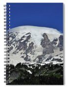 Capped Rainier Up Close Spiral Notebook
