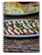 Caprese Salad Spiral Notebook