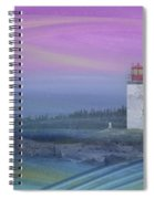 Capricious Lighthouse... Spiral Notebook
