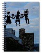 Capricious Quebec City Canada Spiral Notebook