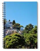 Capri's Gardens Spiral Notebook