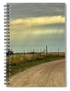Caprock Canyon-country Road Spiral Notebook