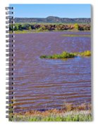 Caprock Canyon-lake Scenic Spiral Notebook
