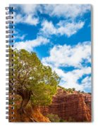 Caprock Canyon Tree Spiral Notebook
