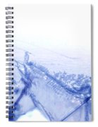 Capt. Call In A Snow Storm Spiral Notebook