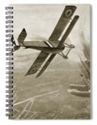 Captain Hawkers Aerial Battle Spiral Notebook