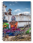 Captain Jack Spiral Notebook