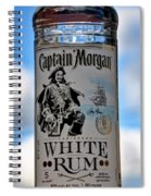 Captain Morgan White Rum Spiral Notebook