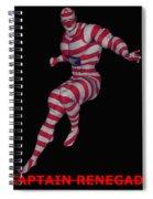 Captain Renegade Spiral Notebook