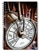Captains Controls Spiral Notebook