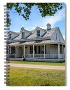 Captain's Quarters Fort Laramie Wyoming Spiral Notebook