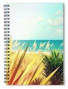 Captiva Island Photography Light Leaks Spiral Notebook