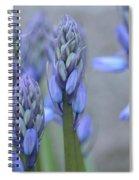 Captivating Campanula Spiral Notebook
