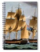 Capture Of The Furie And Waakzaamheid Spiral Notebook