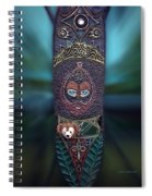 Captured Bear 02 Spiral Notebook