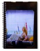 Captured Spiral Notebook