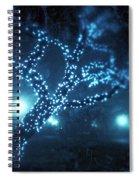 Captured Stars Spiral Notebook