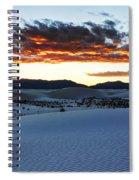 Capturing The Sunset Spiral Notebook