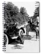 Car And Carriage, 1914 Spiral Notebook